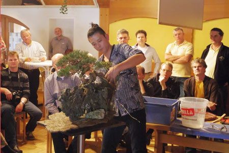 Bonsai demonstration02